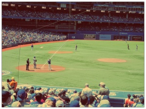 Great seats at a Toronto Blue Jays game