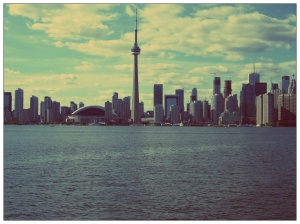 View from the Toronto Island Ferry
