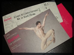Tickets available through the National Ballet of Canada.